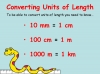 Converting and Comparing Units of Length - Year 4 (slide 4/38)