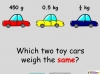 Converting and Comparing Units of Mass - Year 4 (slide 22/36)