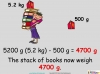 Converting and Comparing Units of Mass - Year 4 (slide 29/36)