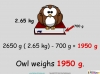 Converting and Comparing Units of Mass - Year 4 (slide 35/36)