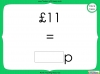 Converting and Comparing Units of Money - Year 4 (slide 19/38)