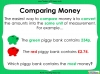 Converting and Comparing Units of Money - Year 4 (slide 21/38)