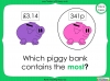 Converting and Comparing Units of Money - Year 4 (slide 24/38)