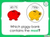 Converting and Comparing Units of Money - Year 4 (slide 26/38)