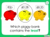 Converting and Comparing Units of Money - Year 4 (slide 27/38)