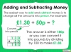 Converting and Comparing Units of Money - Year 4 (slide 29/38)