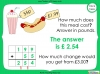 Converting and Comparing Units of Money - Year 4 (slide 32/38)