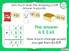 Converting and Comparing Units of Money - Year 4 (slide 34/38)