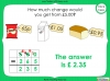 Converting and Comparing Units of Money - Year 4 (slide 35/38)