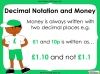 Converting and Comparing Units of Money - Year 4 (slide 8/38)
