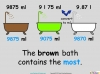 Converting and Comparing Units of Volume - Year 4 (slide 21/36)