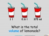 Converting and Comparing Units of Volume - Year 4 (slide 30/36)
