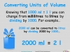Converting and Comparing Units of Volume - Year 4 (slide 5/36)