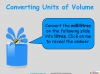 Converting and Comparing Units of Volume - Year 4 (slide 7/36)