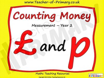 Counting Money - Year 2