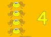 Counting Spiders - Counting Numbers 6 to 10 (slide 10/45)