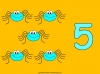 Counting Spiders - Counting Numbers 6 to 10 (slide 11/45)