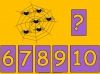 Counting Spiders - Counting Numbers 6 to 10 (slide 28/45)