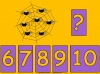 Counting Spiders - Counting Numbers 6 to 10 (slide 31/45)