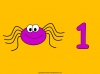 Counting Spiders - Counting Numbers 6 to 10 (slide 7/45)