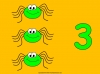 Counting Spiders - Counting Numbers 6 to 10 (slide 9/45)