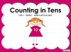 Counting in 10s - Year 1 (slide 1/30)