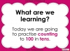 Counting in 10s - Year 1 (slide 2/30)