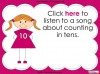 Counting in 10s - Year 1 (slide 25/30)