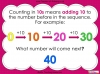 Counting in 10s - Year 1 (slide 4/30)