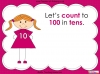 Counting in 10s - Year 1 (slide 5/30)