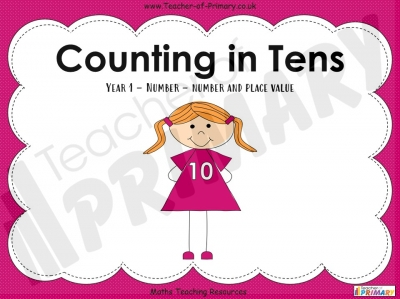 Counting in 10s - Year 1