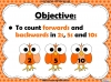 Counting in 2s, 5s and 10s - Year 2 (slide 2/50)