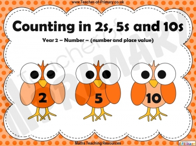Counting in 2s, 5s and 10s - Year 2