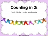 Counting in 2s (slide 1/42)