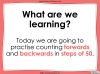 Counting in 50s - Year 3 (slide 2/30)
