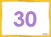 Counting in 5s to 50 - Year 1 (slide 11/32)