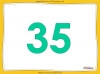 Counting in 5s to 50 - Year 1 (slide 12/32)
