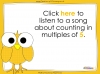 Counting in 5s to 50 - Year 1 (slide 28/32)