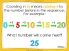 Counting in 5s to 50 - Year 1 (slide 3/32)
