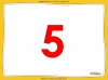 Counting in 5s to 50 - Year 1 (slide 6/32)
