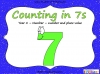 Counting in 7s (slide 1/42)