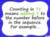 Counting in 7s (slide 3/42)