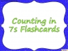 Counting in 7s (slide 33/42)