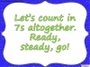 Counting in 7s (slide 5/42)