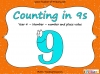 Counting in 9s (slide 1/44)