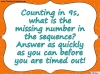 Counting in 9s (slide 21/44)