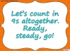 Counting in 9s (slide 7/44)