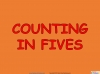 Counting in Multiples of Five Train (slide 3/28)