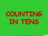 Counting in Multiples of Ten Train (slide 4/28)