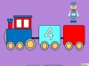 Counting in Multiples of Twos Train (slide 18/28)